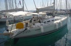 Beneteau First 35 at marina Marina Kastela in Kastel Gomilica.