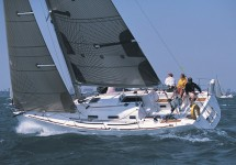 Beneteau First 36.7 at marina Marina Kremik in Primosten.