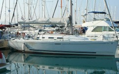 Beneteau First 40.7 at marina Marina Kornati in Biograd na moru.