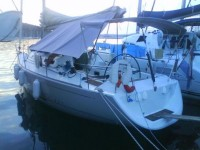 Beneteau First 40.7 at marina Marina Kremik in Primosten.