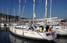Beneteau First 45 at marina Marina Kastela in Kastel Gomilica.