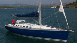 Beneteau First 47.7 at marina Marina Hramina in Murter.