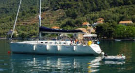 Beneteau First 47.7 at marina Marina Kastela in Kastel Gomilica.