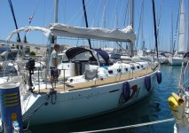Beneteau First 47.7 at marina Marina Kremik in Primosten.
