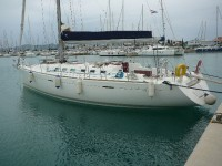 Beneteau First 47.7 at marina Marina Dalmacija Sukosan in Zadar.