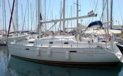 Beneteau Oceanis 331 Clipper at marina Marina Zenta in Split.