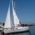 Beneteau Oceanis 393 Clipper  at marina Marina Zenta in Split.