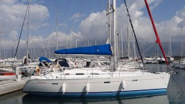 Beneteau Oceanis 393 Clipper  at marina ACI Marina Split in Split.