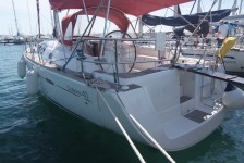 Beneteau Oceanis 40 at marina Marina Punat in Island of Krk.