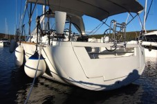 Beneteau Oceanis 41 at marina Marina Punat in Island of Krk.