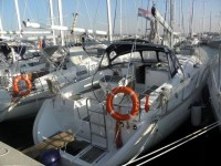 Beneteau Oceanis 411 Clipper at marina Marina Zenta in Split.