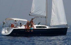Bavaria 35 match rent a yacht on Adriatic