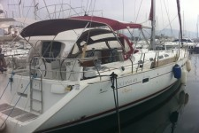 Beneteau Oceanis 473 Clipper at marina Marina Zenta in Split.