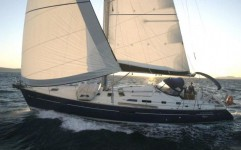 Beneteau Oceanis 473 Clipper at marina ACI Marina Split in Split.