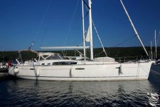 Beneteau Oceanis 50 at marina Marina Punat in Island of Krk.