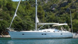 Beneteau Oceanis Clipper 423 at marina Marina Betina in Murter.