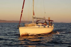 Hunter 41 yacht charter Croatia