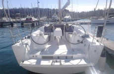 Dufour 310 Grand Large at marina Marina Punat in Island of Krk.