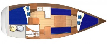 Dufour 325 Grand Large.