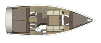 Dufour 350 Grand Large.