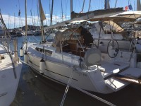 Dufour 350 Grand Large at marina Marina Punat in Island of Krk.