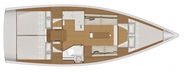 Dufour 360 Grand Large.