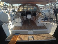 Dufour 382 Grand Large at marina ACI Marina Trogir in Trogir.