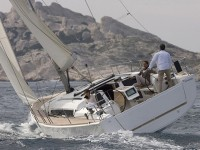 Dufour 412 Grand Large  at marina Marina YC Seget in Trogir.