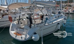 Dufour 44 Performance at marina ACI Marina Split in Split.