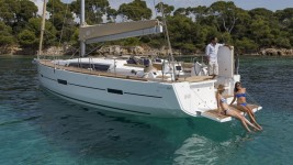 Dufour 460 Grand Large at marina ACI Marina Pomer in Pula.