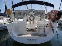 Elan 333 at marina ACI Marina Pula in Pula.