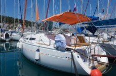 Elan 344 Impression at marina ACI Marina Split in Split.