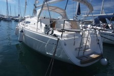 Elan 344 Impression at marina Marina Punat in Island of Krk.