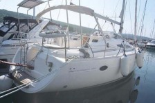 Elan 384 Impression at marina Marina Punat in Island of Krk.