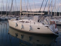 Elan 384 Impression at marina Marina Baska Voda in Makarska.