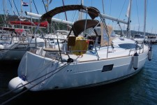 Elan 40 Impression at marina Marina Punat in Island of Krk.