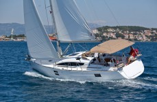 Elan 40 Impression at marina ACI Marina Trogir in Trogir.