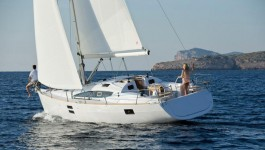 Elan 40 Impression at marina Marina YC Seget in Trogir.