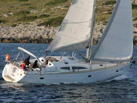 Elan 434 Impression yacht charter on Adriatic
