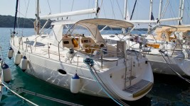 Elan 434 Impression at marina Marina YC Seget in Trogir.