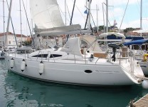 Elan 434 Impression at marina Marina Punat in Island of Krk.