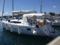 Elan 444 Impression at marina ACI Marina Trogir in Trogir.