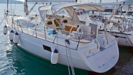 Elan 444 Impression at marina Marina YC Seget in Trogir.