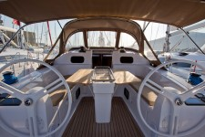 Elan 45 Impression at marina ACI Marina Trogir in Trogir.