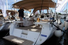 Elan 45 Impression at marina Marina Punat in Island of Krk.