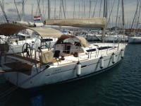 Elan 450 Performance at marina Marina Kornati in Biograd na moru.
