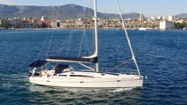 Elan 450 at marina ACI Marina Split in Split.