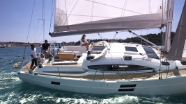 Elan 494 Impression at marina ACI Marina Split in Split.