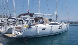 Elan 50 Impression at marina Marina YC Seget in Trogir.