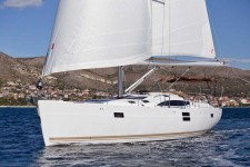 Elan 50 Impression at marina ACI Marina Trogir in Trogir.
